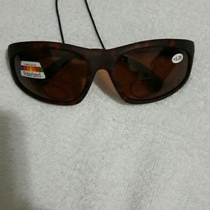Other - Polarized Sunglasses w/reading focals 2.25